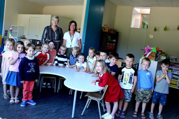 Nieuwe kleuterklasjes en zesde leerjaar voor Sint-Petrus in Waregem