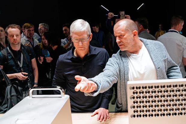 Designer Jony Ive weg bij Apple