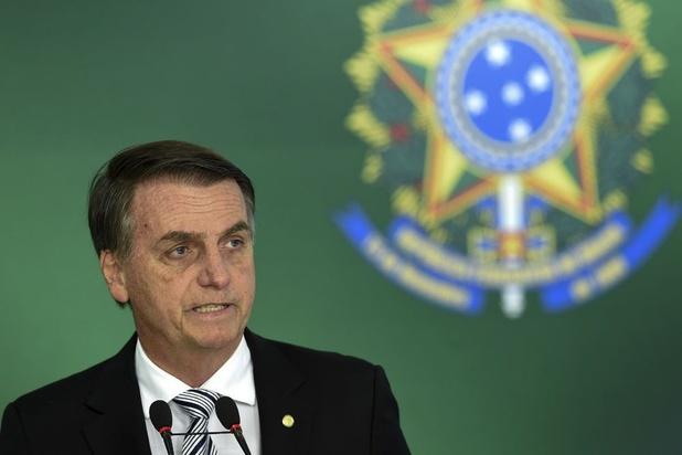 Bolsonaro zegt af voor top over Amazonegebied