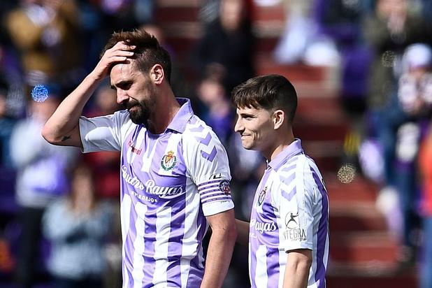 Matches truqués en Espagne: sept joueurs de Valladolid impliqués