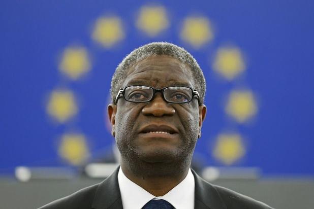 Mukwege, prix Nobel, dénonce la poursuite des massacres devant les eurodéputés