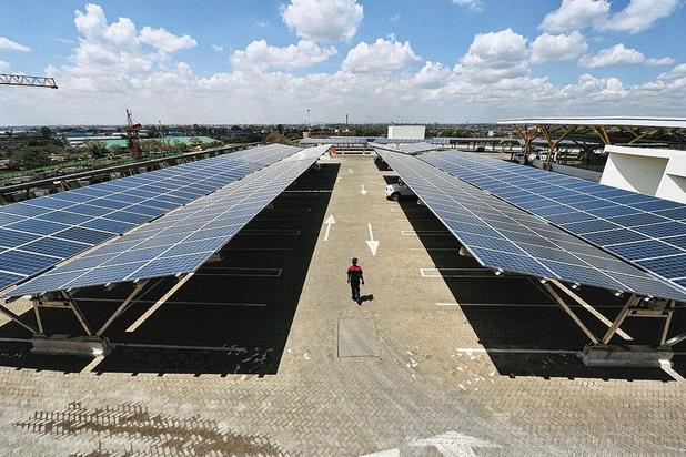 Le plus grand parc photovoltaïque de Wallonie