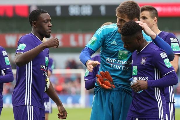 Antwerp en Anderlecht delen de punten