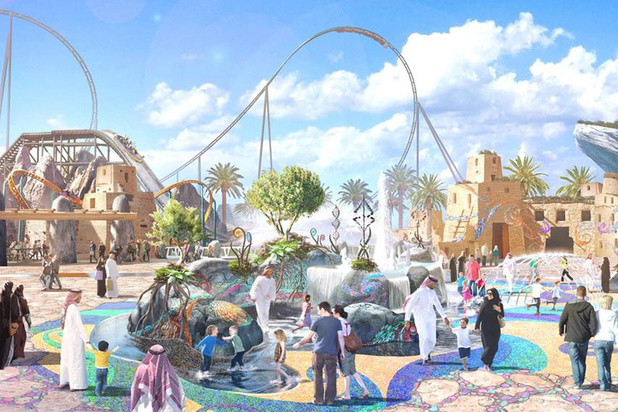 L'Arabie Saoudite possèdera bientôt les montagnes russes les plus rapides et les plus longues au monde