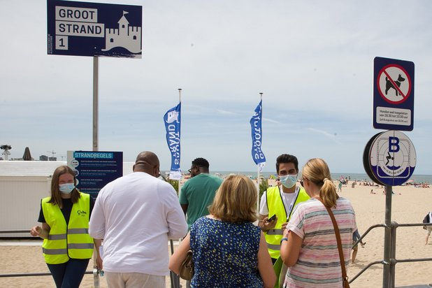 Promenade sur la digue : où le port du masque est-il obligatoire ?