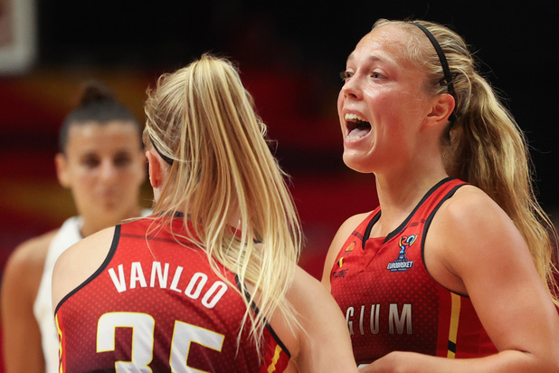 Basket féminin: cruelle défaite de la Belgique à un dixième de secondes de sa première finale européenne