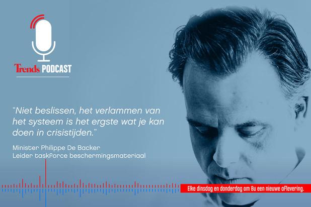 Trends Podcast met Philippe De Backer: 'We stellen draaiboeken op voor tweede golf'