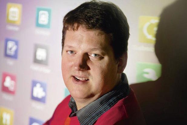 Fabien Pinckaers, fondateur et CEO d'Odoo, la scale-up wallonne par excellence