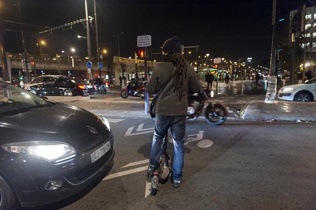 Sur le bitume, les Parisiens à bout de nerfs après 15 jours de grève