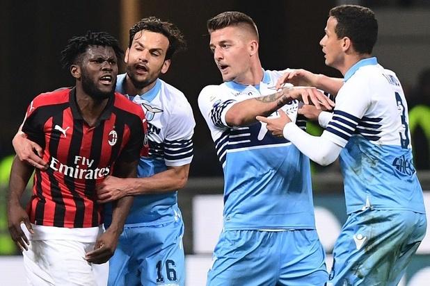 Tribune fermée avec sursis pour la Lazio après des chants racistes