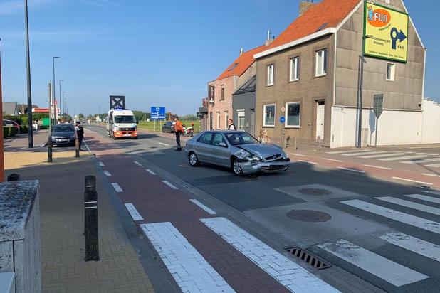 76-jarige dame raakt gewond bij ongeval in Oostende