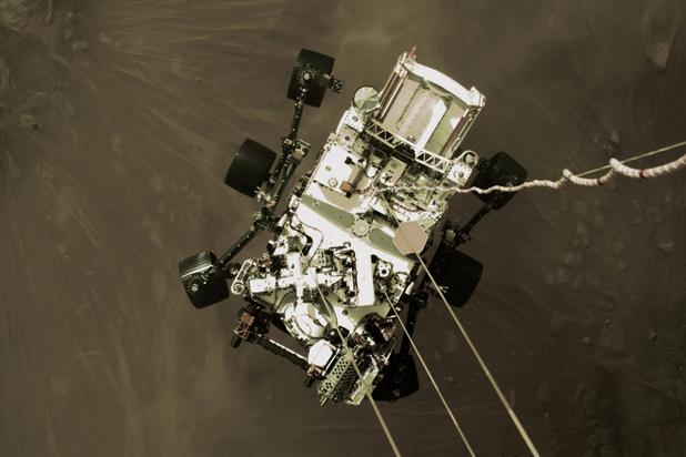 Vidéo: La Nasa publie les premières images de l'atterrissage sur Mars du rover Perseverance