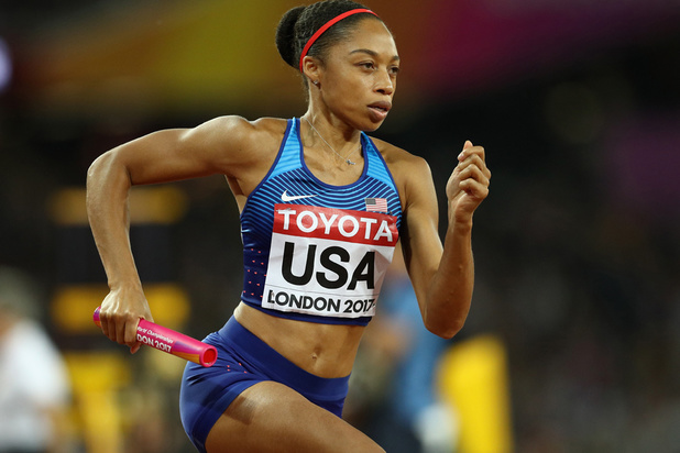 La politique post-maternité de Nike critiquée par Allyson Felix, star de l'athlétisme aux USA