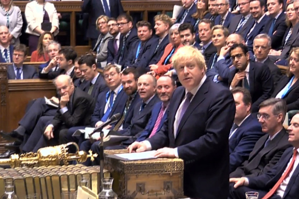 Le Parlement britannique lance l'adoption de l'accord de Brexit de Johnson