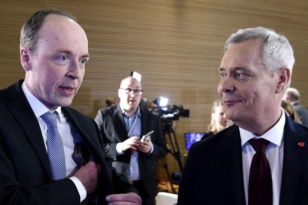Percée des populistes en Finlande: Jussi Halla-aho face à Antti Rinne