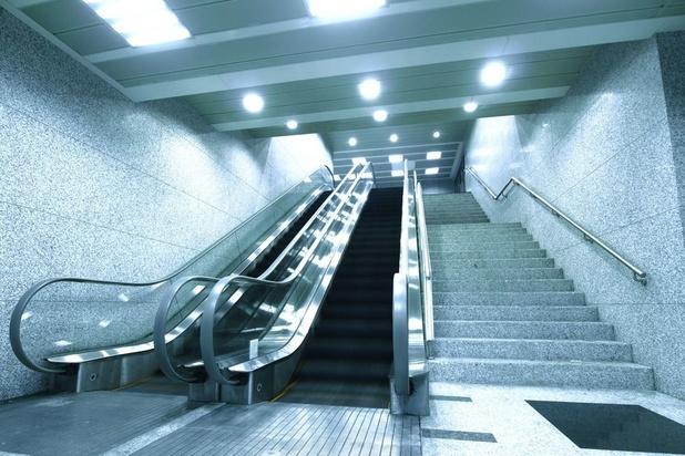 Gare aux pannes d'escalator