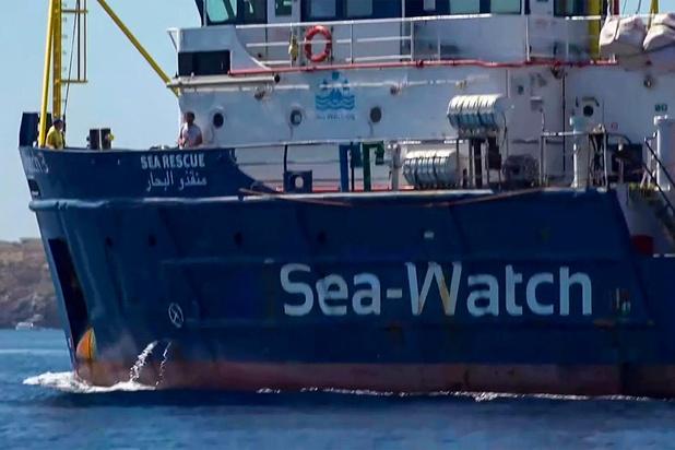 Mark Rutte en zijn Italiaanse evenknie bespreken omstreden ngo-schip Sea-Watch 3