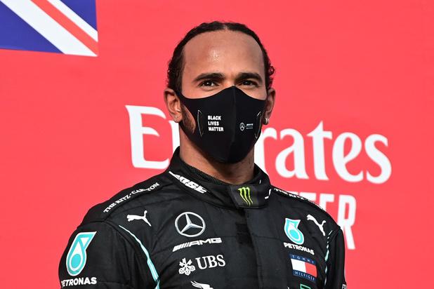 F1: Lewis Hamilton remporte le GP à Imola, 7e titre de suite pour Mercedes, un record