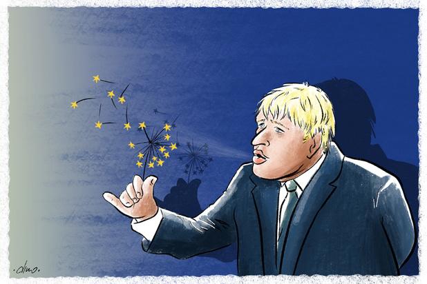 Hoe Boris Johnson de Europese Unie uitdaagt (maar enkel Verhofstadt toehapt)
