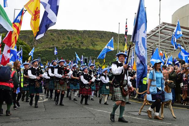 """Écosse: """"N'ayez aucun doute, l'indépendance arrive"""""""