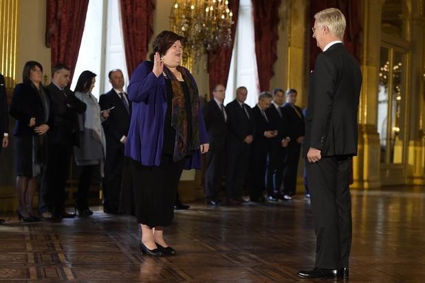 De Croo: 'Volgende regering moet minstens 6 à 7 vrouwen tellen'