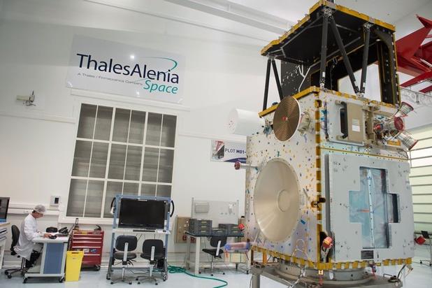 Belgische fabrieken maken deel Indonesische satelliet