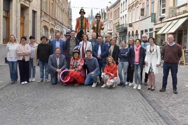 Ieper start met proefproject rond verkeersvrije Menenstraat