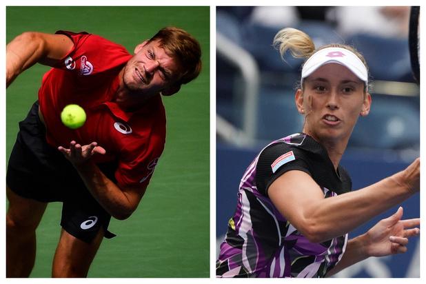 Classement ATP et WTA après l'US Open : David Goffin devient 14e, Elise Mertens 24e en simple