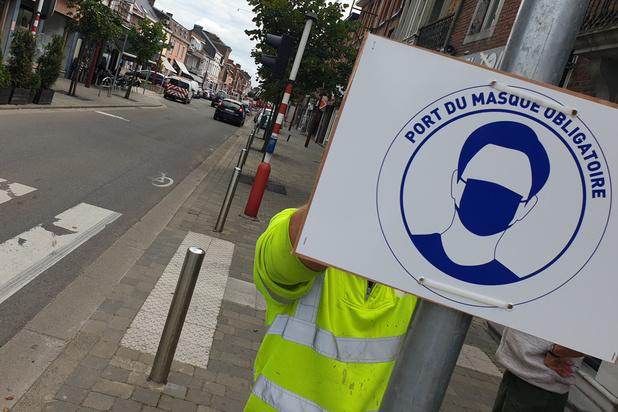 Le port du masque obligatoire dès le 1er août dans le centre-ville de Braine-l'Alleud