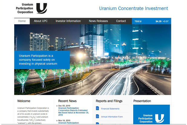 UPC: simple retard dans le redressement du cours de l'uranium