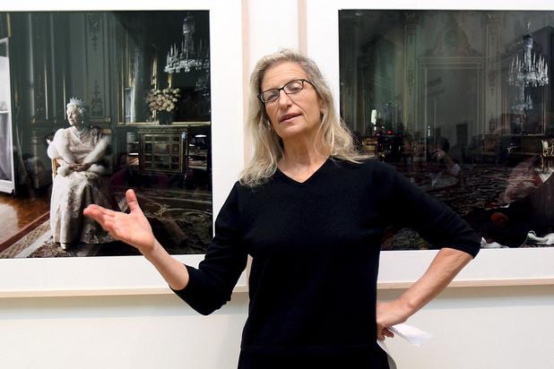 La photographe Annie Leibovitz distinguée par l'Académie française des Beaux-Arts