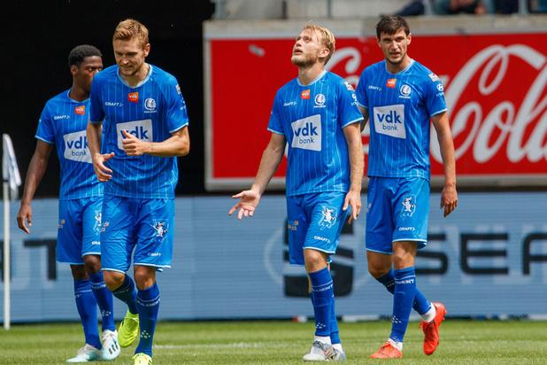 AA Gent vernedert KAS Eupen met 6-1