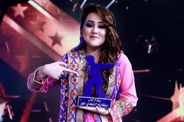 Pour la première fois, une femme remporte la version afghane de la Nouvelle Star