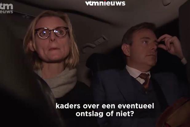 De Wever bood heel even ontslag aan na eerste tegenvallende resultaten, partijtop weigerde