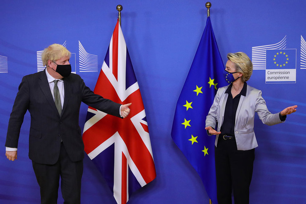 Brussel overweegt zware brexitsancties tegen Verenigd Koninkrijk: 'Het vertrouwen is compleet zoek'