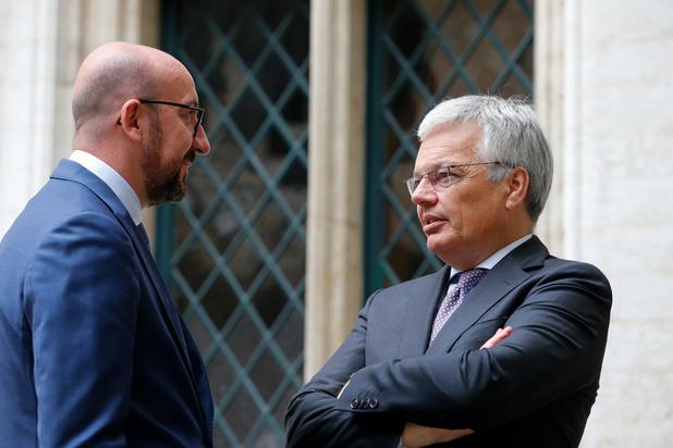 """""""Comme Michel, Reynders ne laisse pas seulement son parti, mais aussi son pays sur le carreau"""""""
