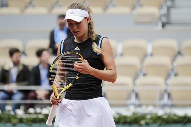 Caroline Wozniacki, 13e mondiale, sortie au premier tour