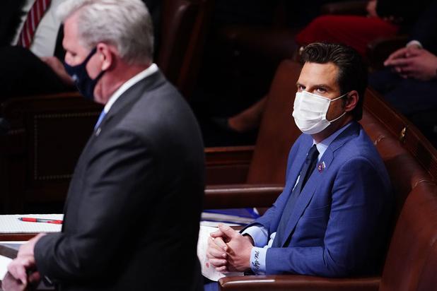 Reputatierisico dreigt voor grote bedrijven die Trump-fans in Amerikaans parlement sponsoren