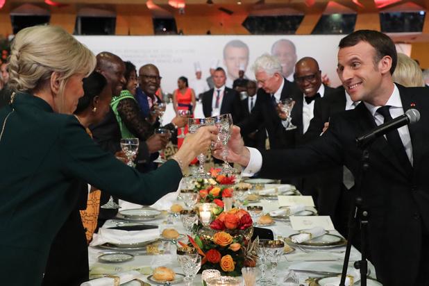 """Macron aux grévistes: """"je crois qu'il est bon de savoir faire trêve"""""""