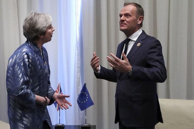 Brexit: May vraagt uitstel tot 30 juni