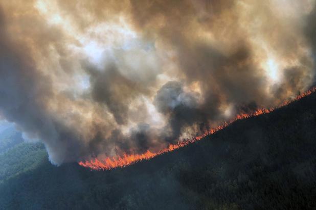Nooit geziene bosbranden teisteren Alaska