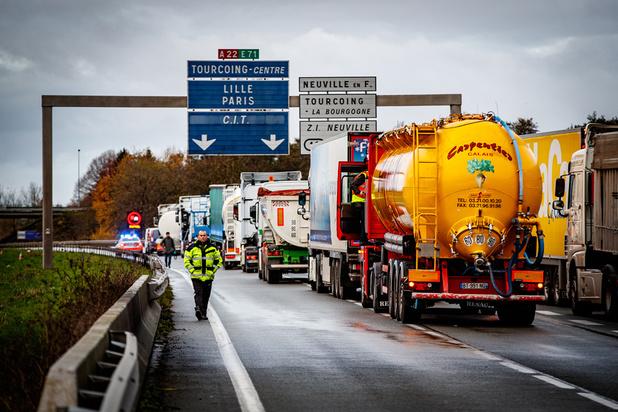 Des barrages filtrants à la frontière franco-belge perturbent la mobilité