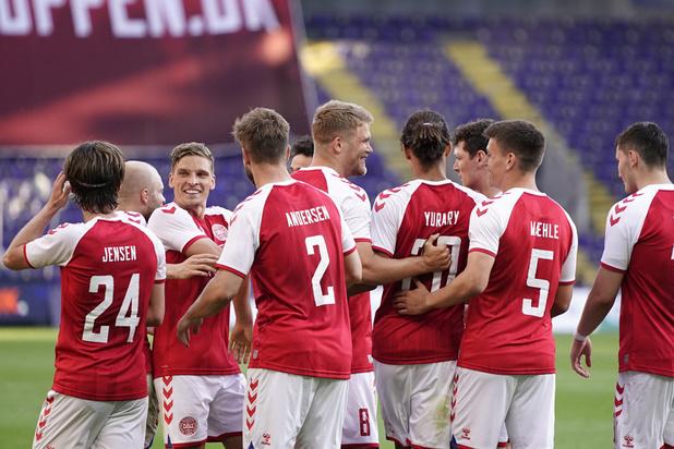 EURO 2021: Futur adversaire des Diables, le Danemark s'impose face à la Bosnie (2-0)