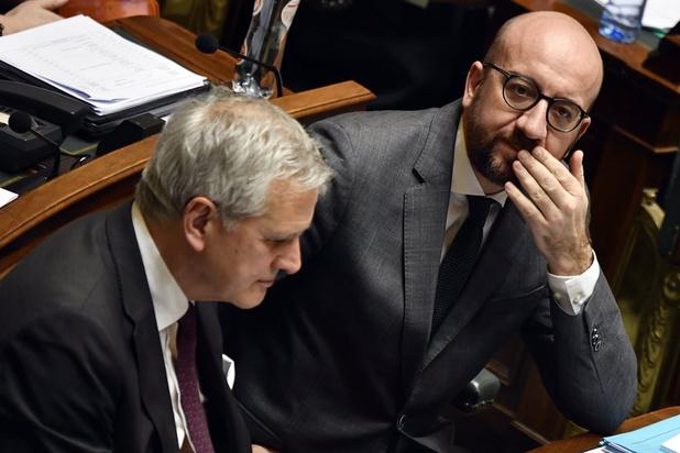 'Regering-Michel II is niet alleen regering in lopende zaken, maar ook van weglopende ministers'