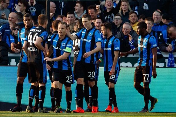 Club Brugge wint overtuigend van tien Buffalo's