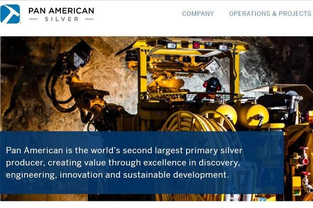 L'action Pan American Silver souffre de la baisse du cours de l'argent
