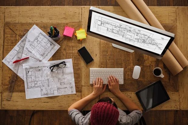 'Een mannelijke architect verdient in België voor een voltijdse functie een derde meer dan een vrouw'
