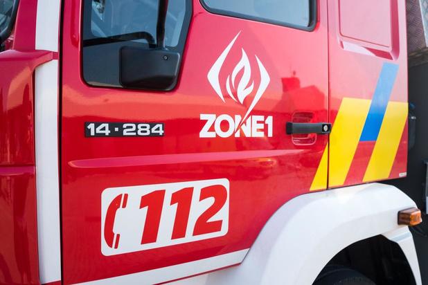 Bewoner loopt rookvergiftiging op bij brand in Poperinge