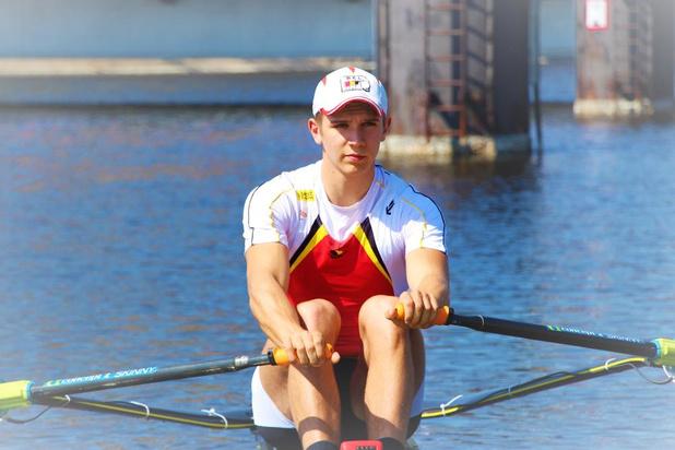 Roeier Tristan Vandenbussche vicewereldkampioen bij junioren