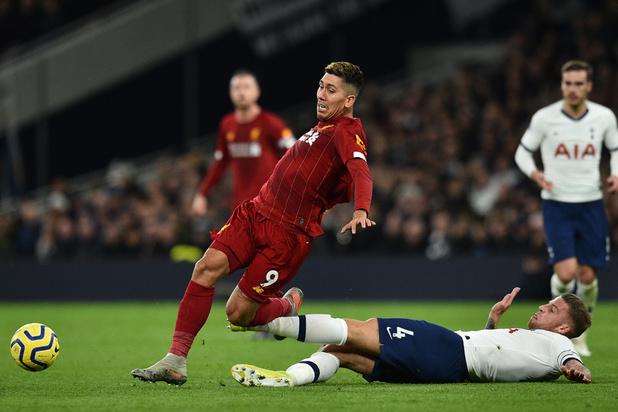 Liverpool signe à Tottenham (avec Alderweireld) son 20e succès en 21 matchs